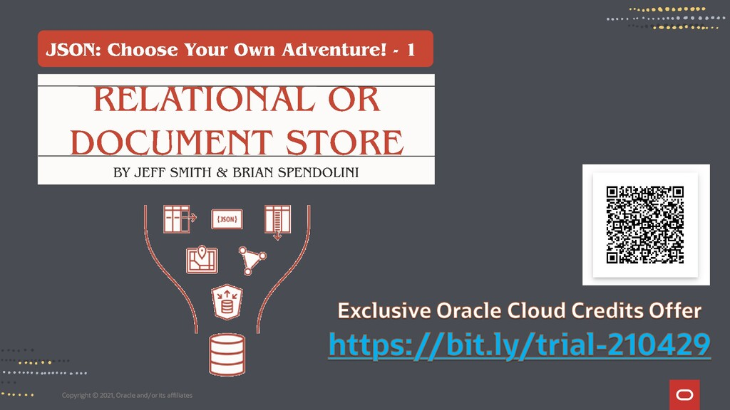 Copyright © 2021, Oracle and/or its affiliates