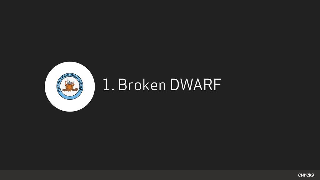 1. Broken DWARF