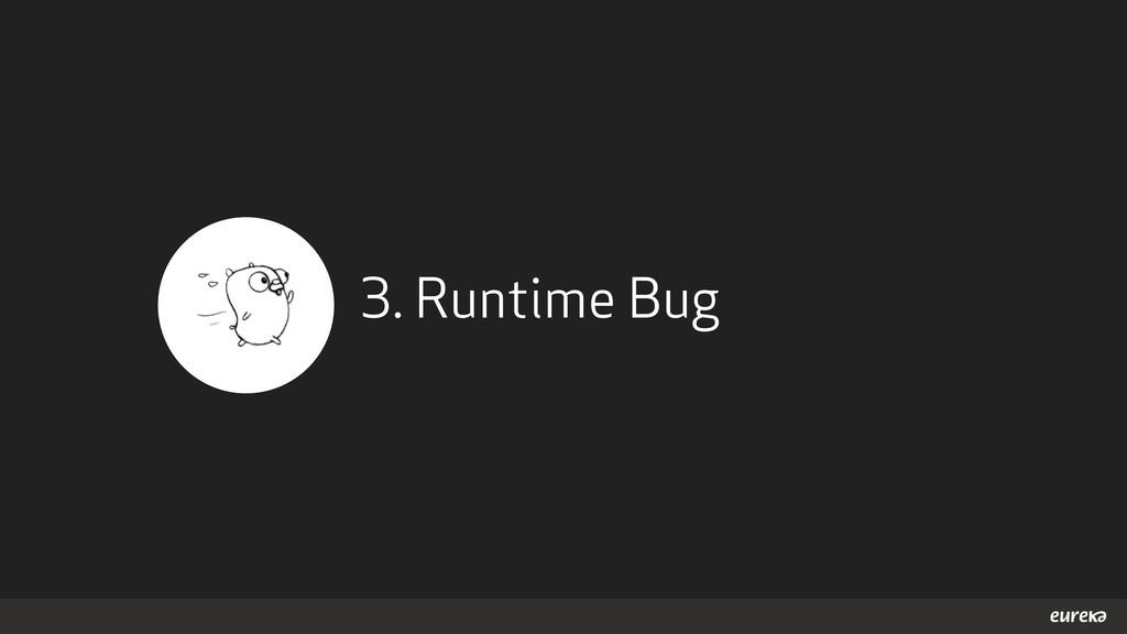 3. Runtime Bug