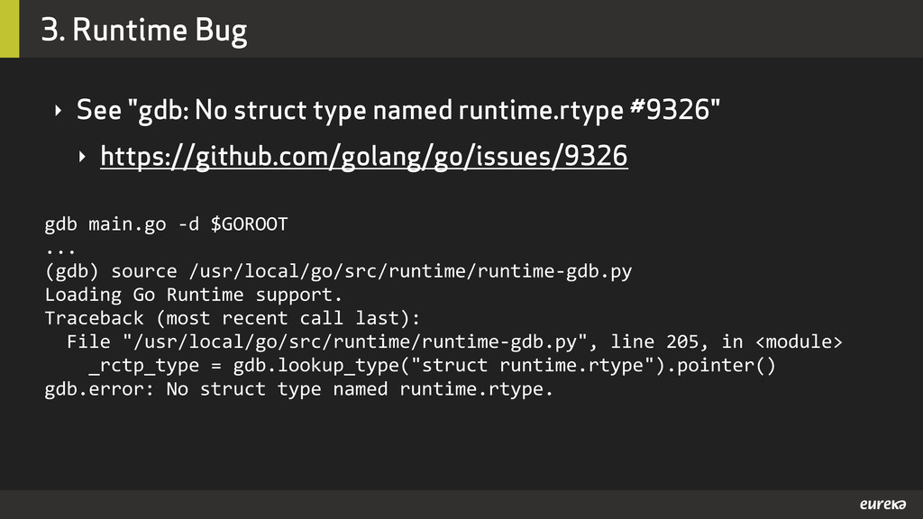 "3. Runtime Bug ‣ See ""gdb: No struct type named..."