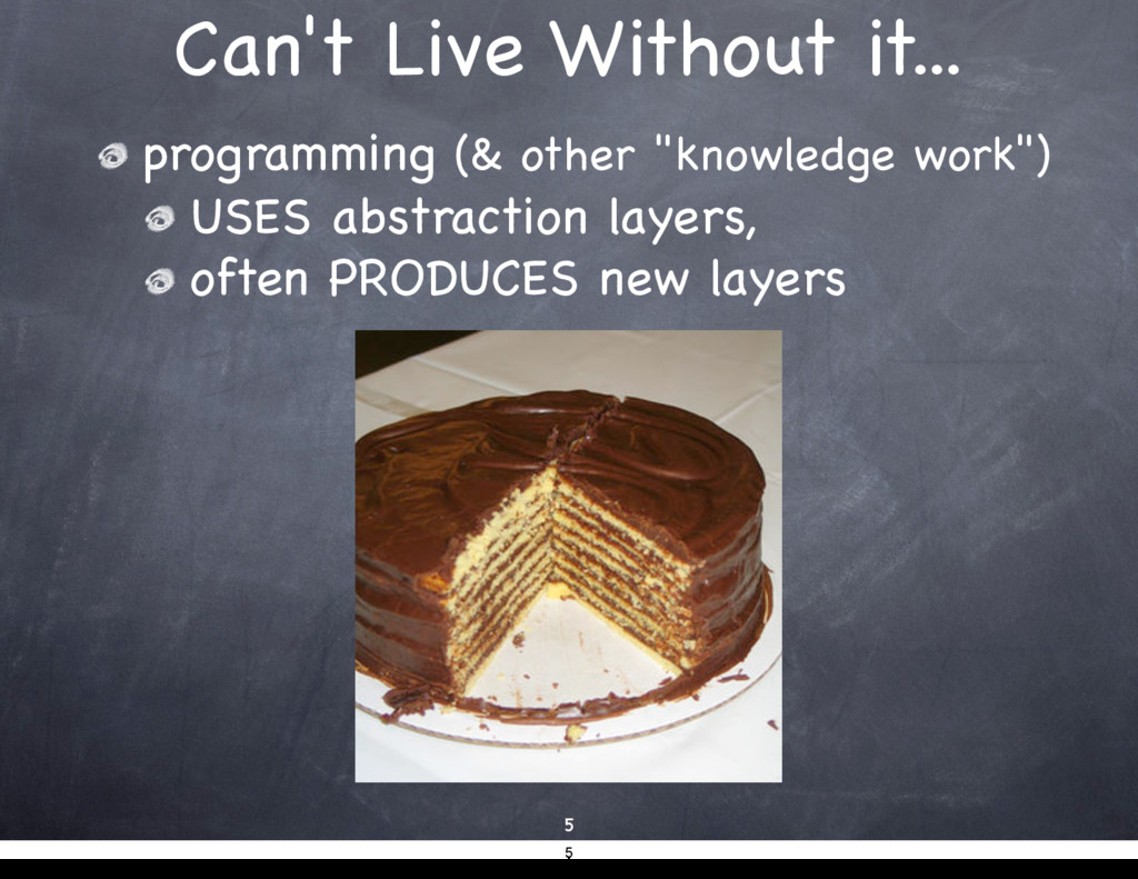 Can't Live Without it... 5 programming (& other...