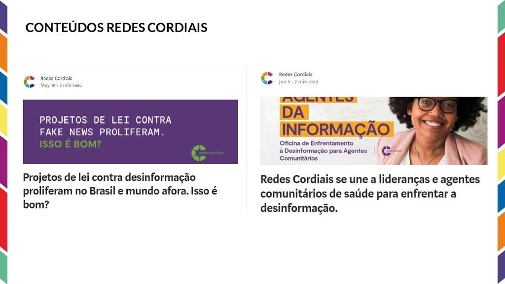 CONTEÚDOS REDES CORDIAIS