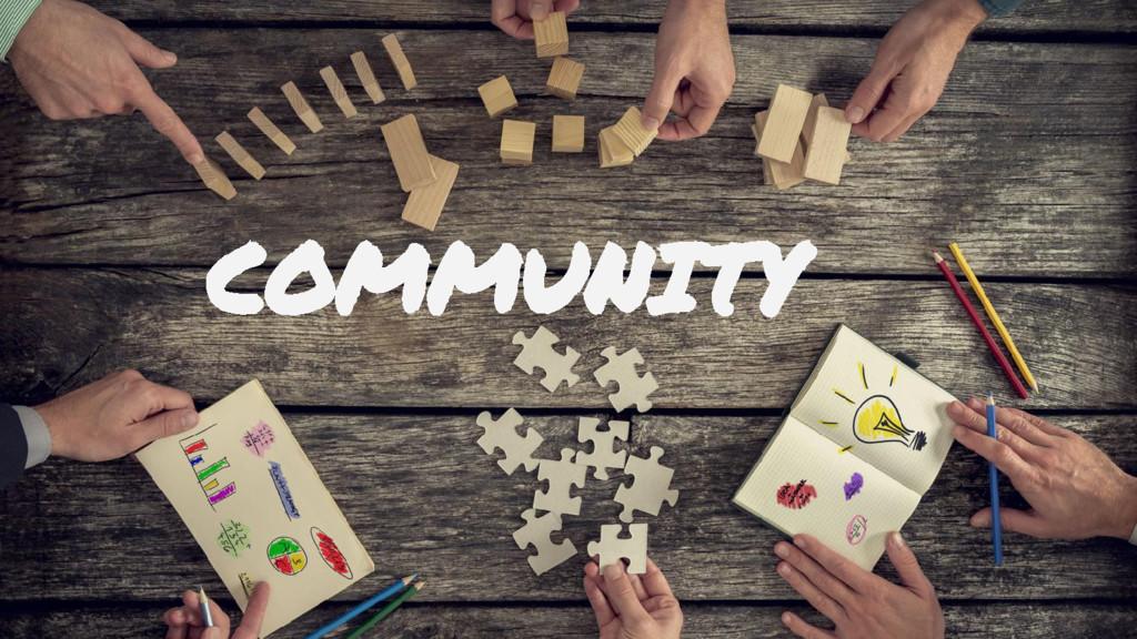 ● P2: Building a Community COMMUNITY