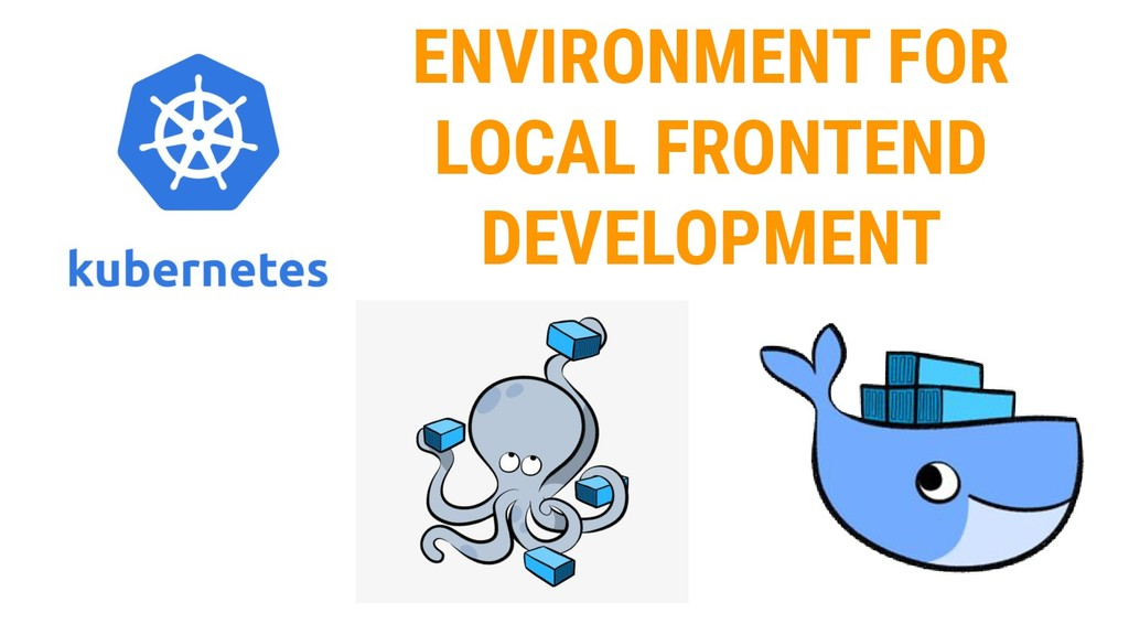 ENVIRONMENT FOR LOCAL FRONTEND DEVELOPMENT