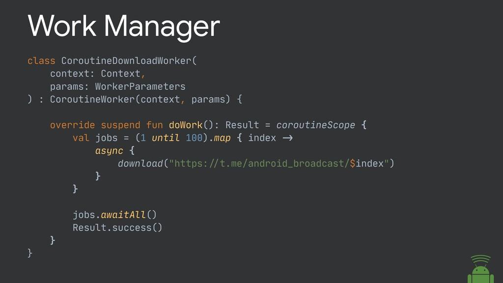 class CoroutineDownloadWorker(  context: Contex...