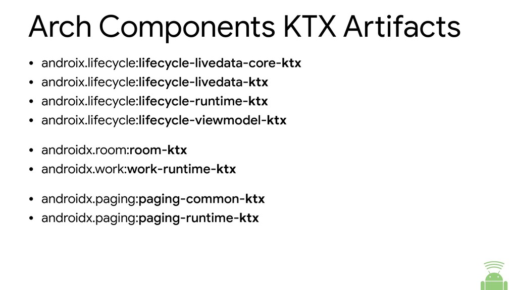 Arch Components KTX Abifacts • androix.lifecycl...