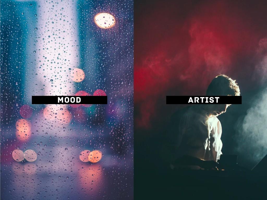 MOOD ARTIST