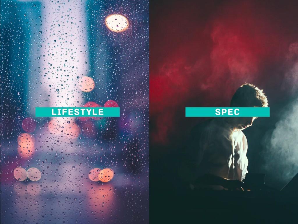 LIFESTYLE SPEC