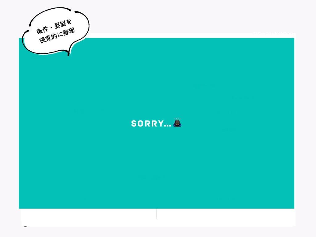 """SORRY…"""" ݅ɾཁΛ ࢹ֮తʹཧ"""