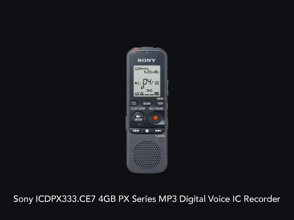 Sony ICDPX333.CE7 4GB PX Series MP3 Digital Voi...