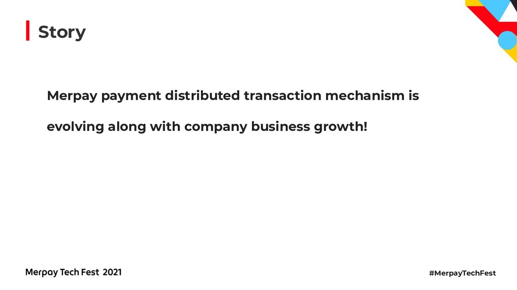 #MerpayTechFest Story Merpay payment distribute...
