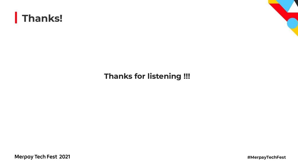 #MerpayTechFest Thanks! Thanks for listening !!!