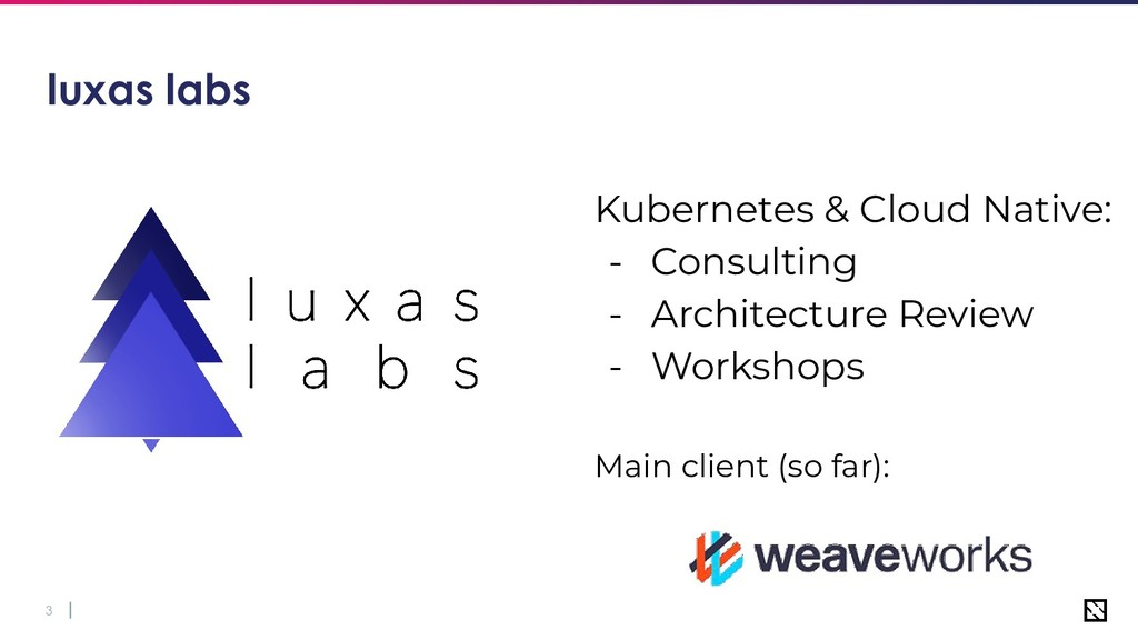 3 luxas labs Kubernetes & Cloud Native: - Consu...