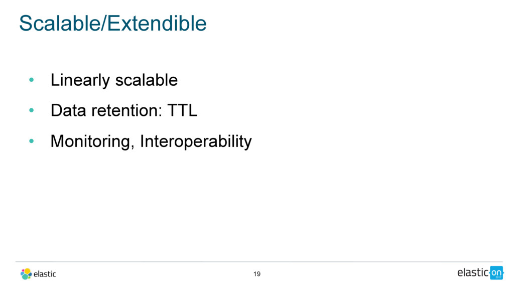 • Linearly scalable • Data retention: TTL • Mon...