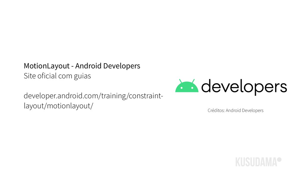 MotionLayout - Android Developers Site oficial ...