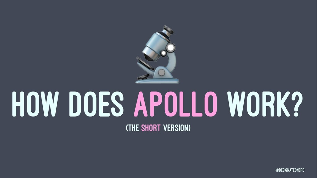 ! HOW DOES APOLLO WORK? (THE SHORT VERSION) @De...