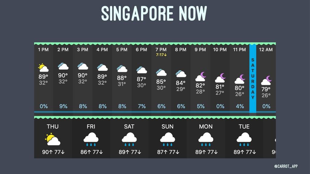 SINGAPORE NOW @CARROT_App