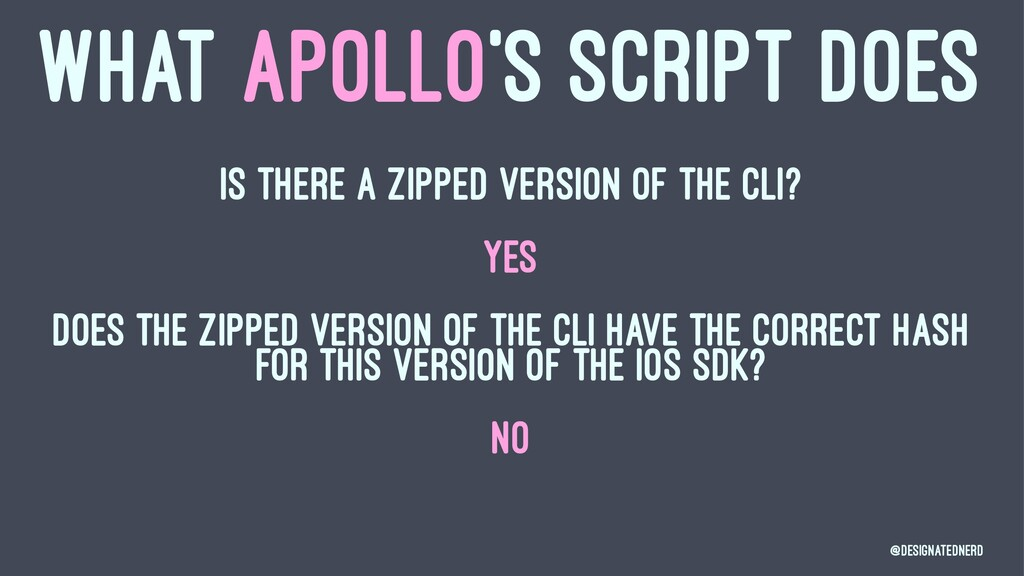 WHAT APOLLO'S SCRIPT DOES Is there a zipped ver...