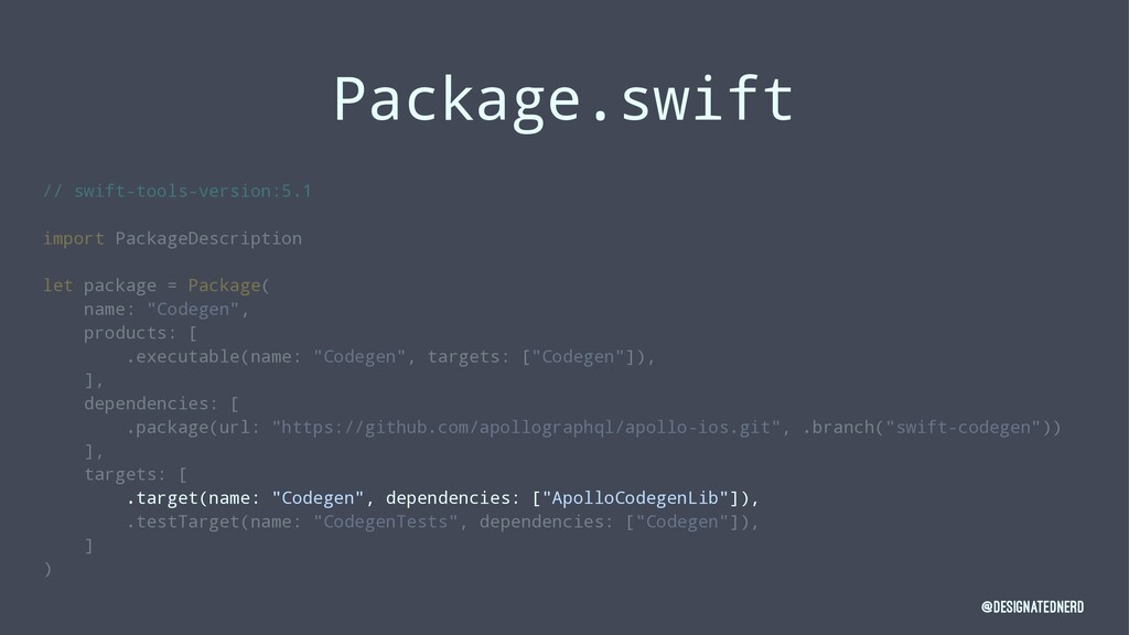 Package.swift // swift-tools-version:5.1 import...