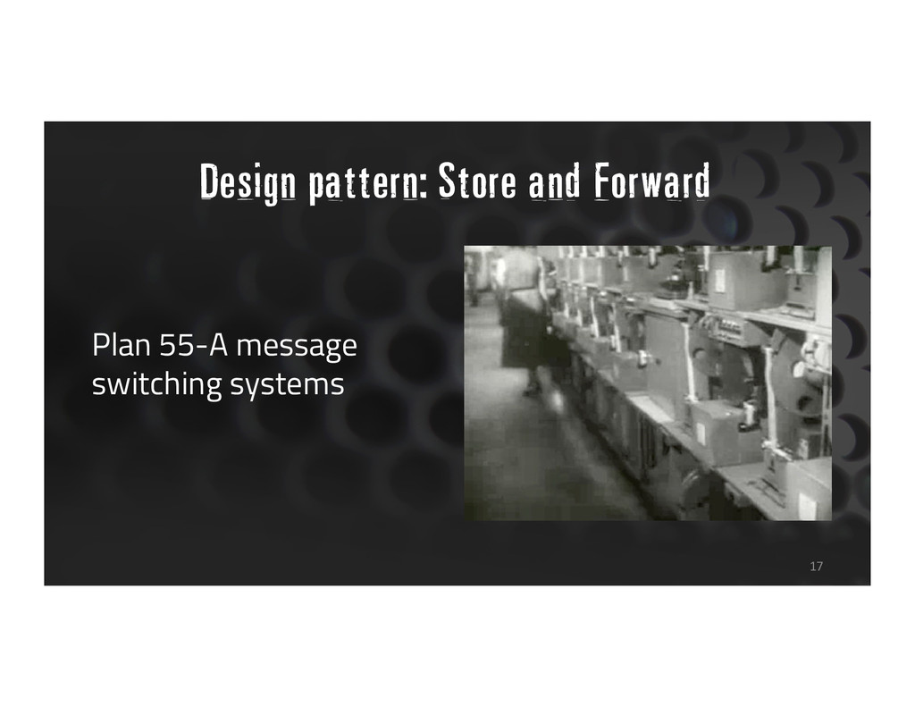 Design pattern: Store and Forward Plan 55-A mes...