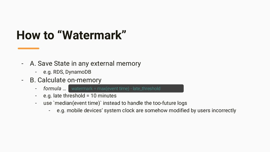 """How to """"Watermark"""" - A. Save State in any exter..."""