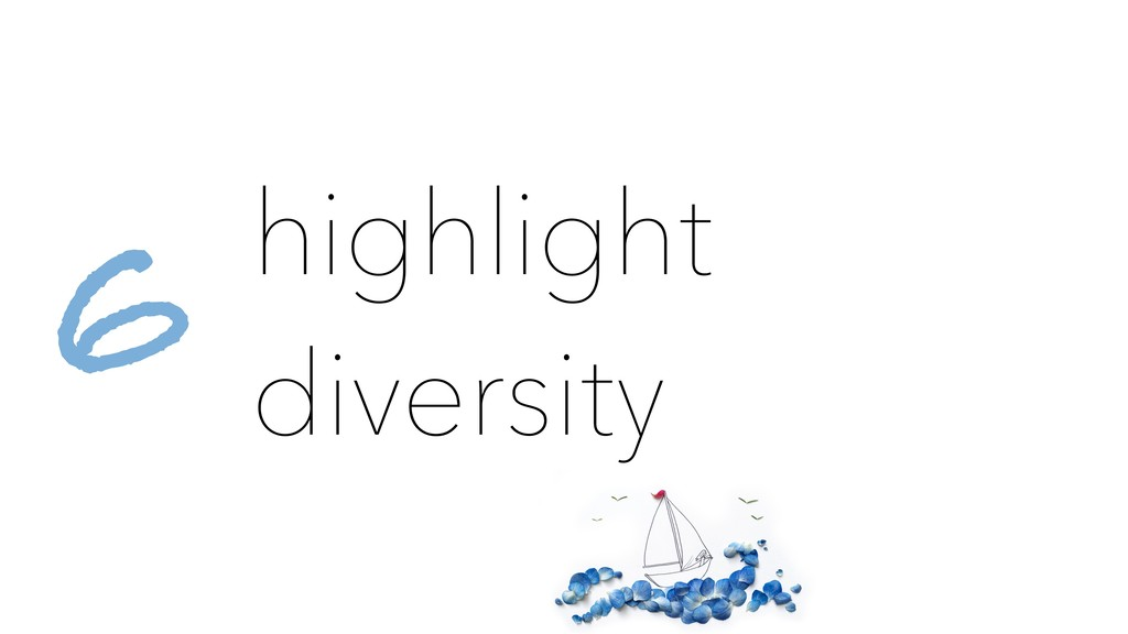 highlight diversity 6