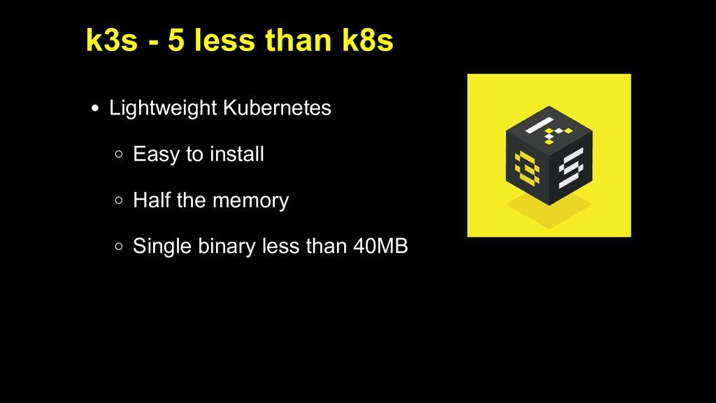2019/5/16 Running k3s on Raspberry Pi 127.0.0.1...