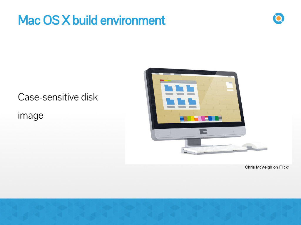 Mac OS X build environment Case-sensitive disk ...