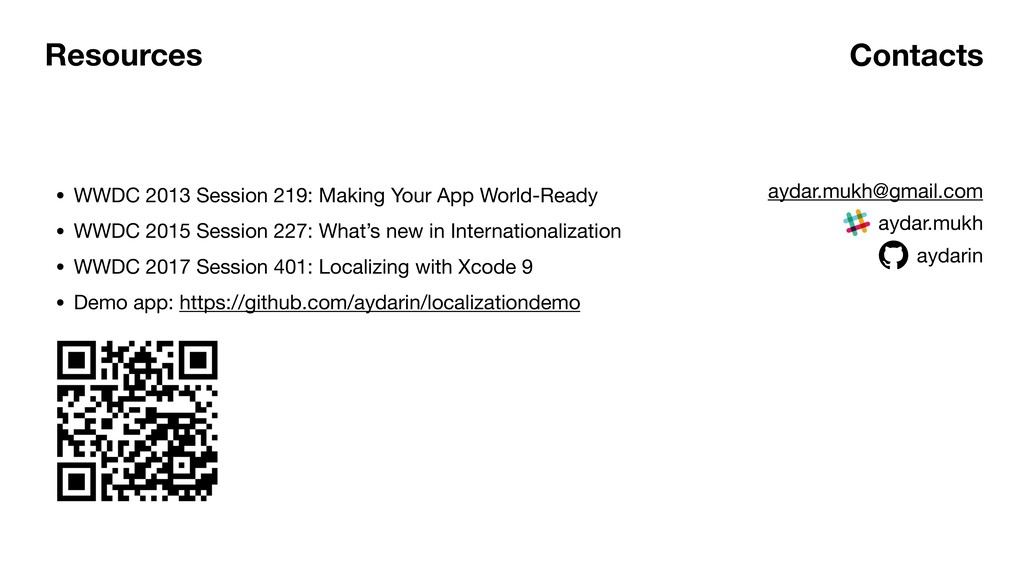 Resources • WWDC 2013 Session 219: Making Your ...