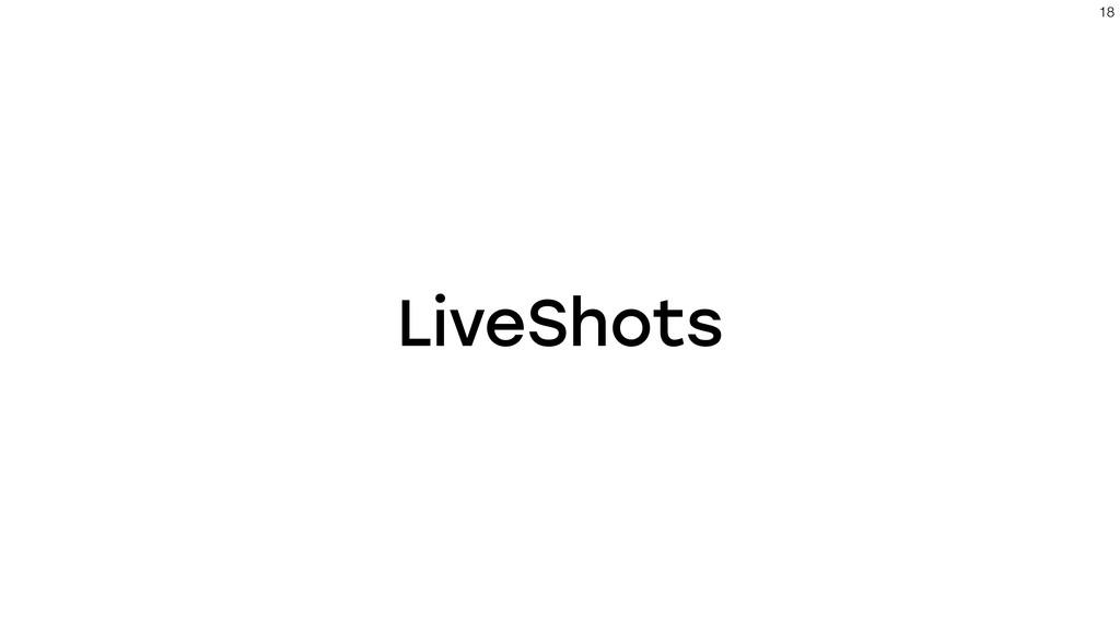 LiveShots !18