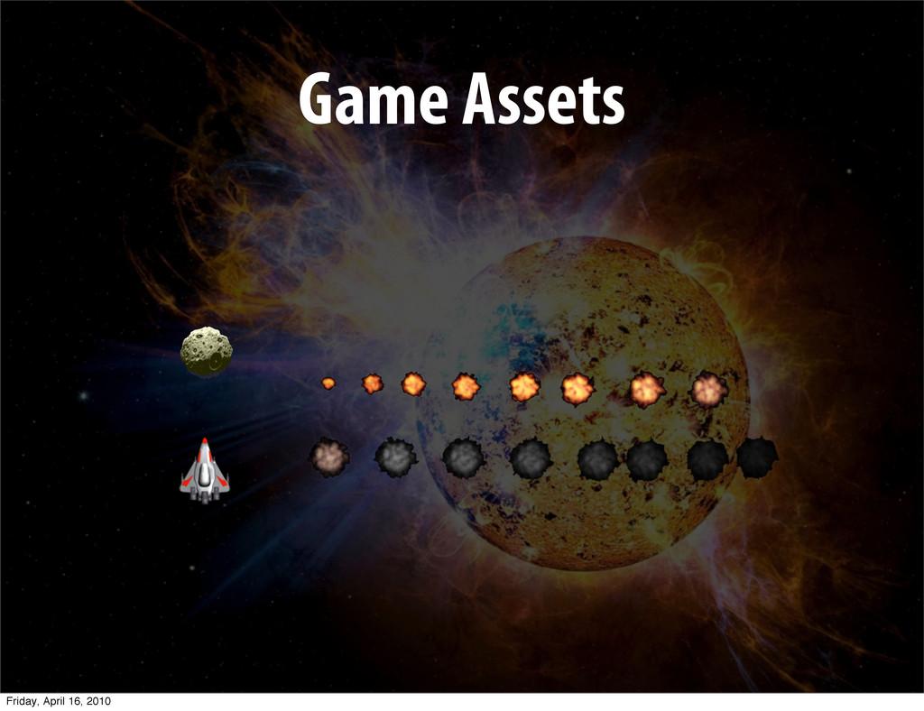 Game Assets Friday, April 16, 2010
