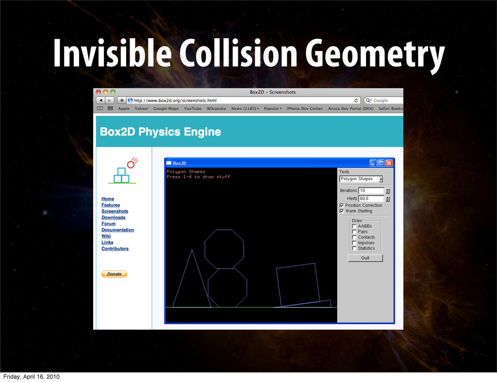 Invisible Collision Geometry Friday, April 16, ...