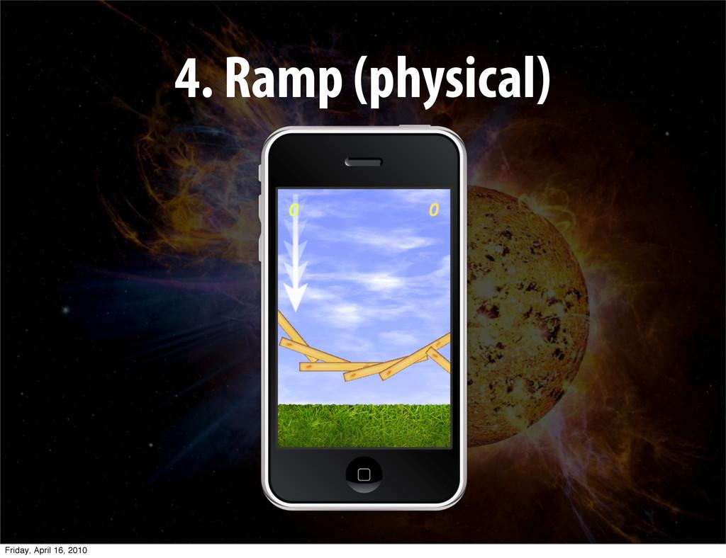 4. Ramp (physical) Friday, April 16, 2010