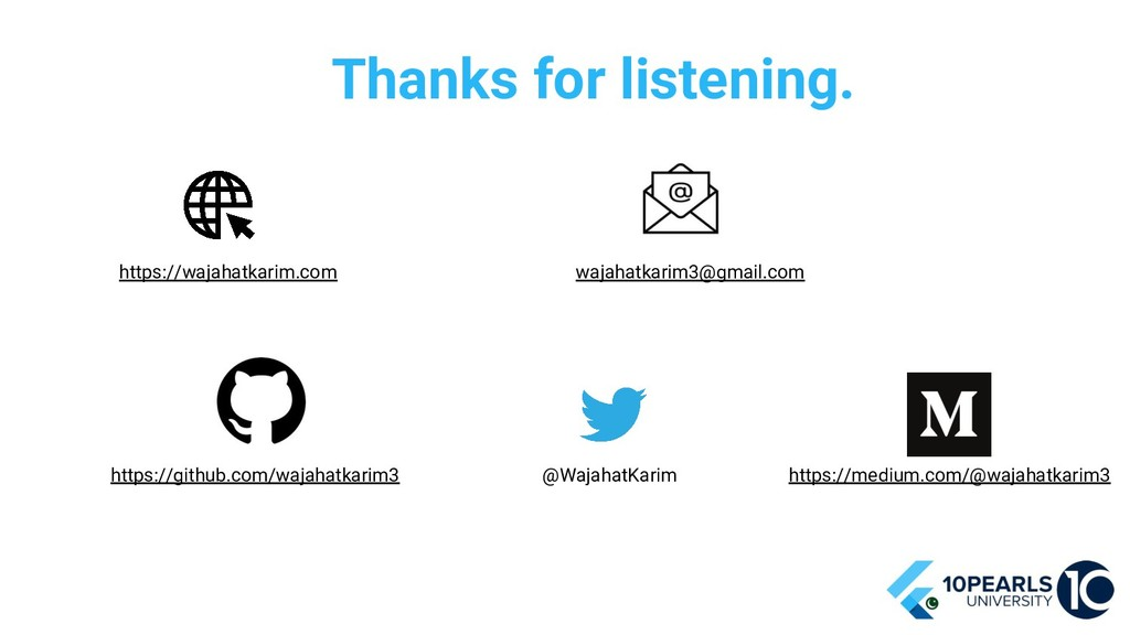Thanks for listening. https://wajahatkarim.com ...