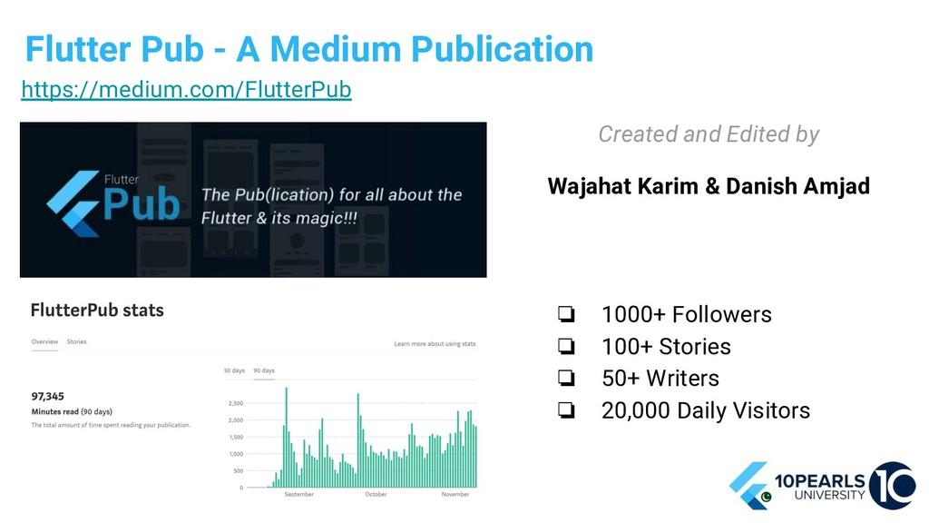 Flutter Pub - A Medium Publication ❏ 1000+ Foll...