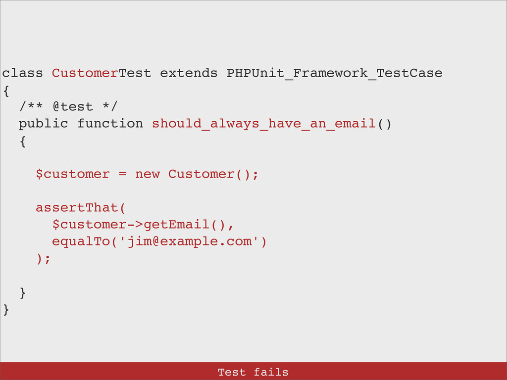 class CustomerTest extends PHPUnit_Framework_Te...