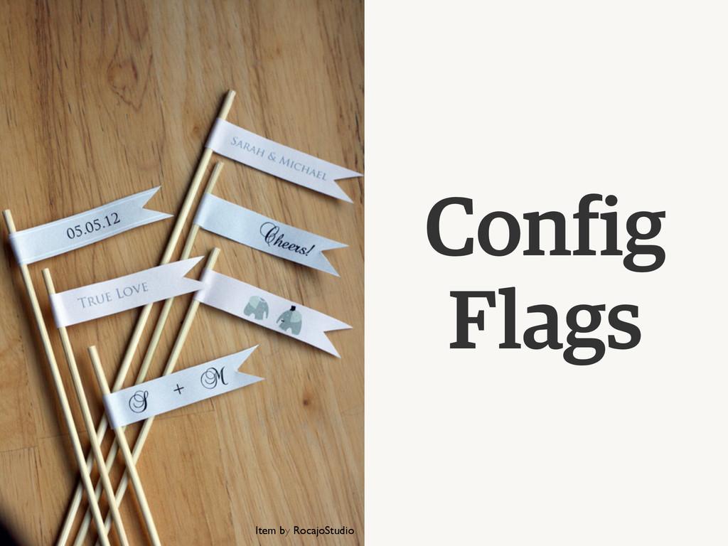 Config Flags Item by RocajoStudio