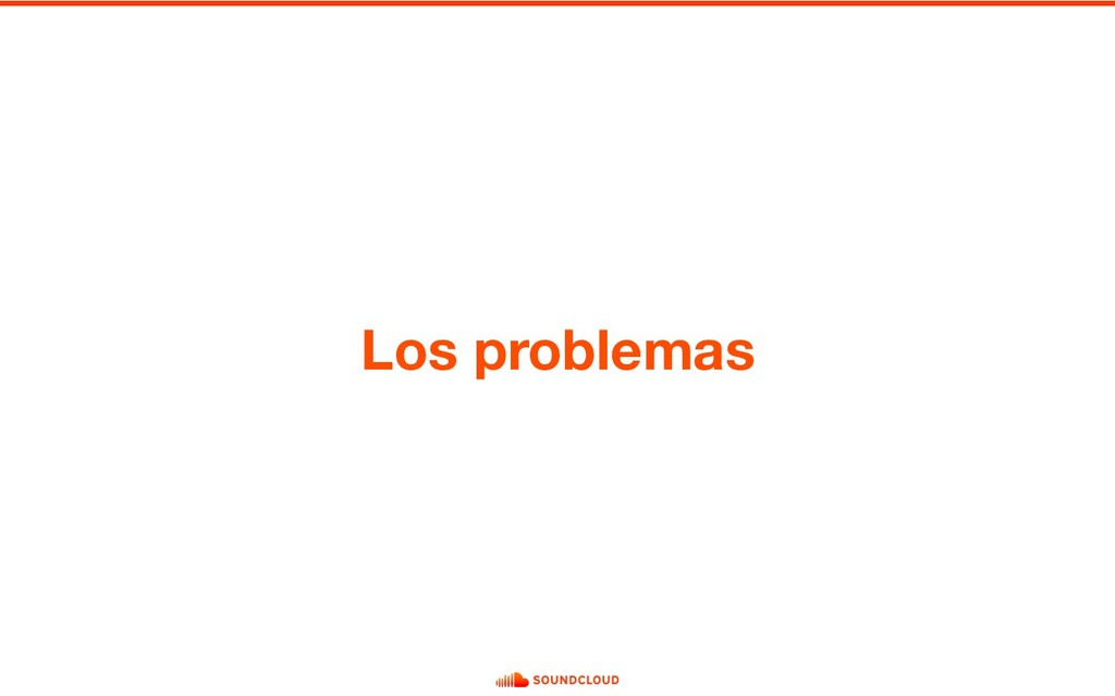 Los problemas