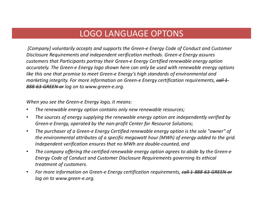 LOGO LANGUAGE OPTONS [Company] voluntarily acce...