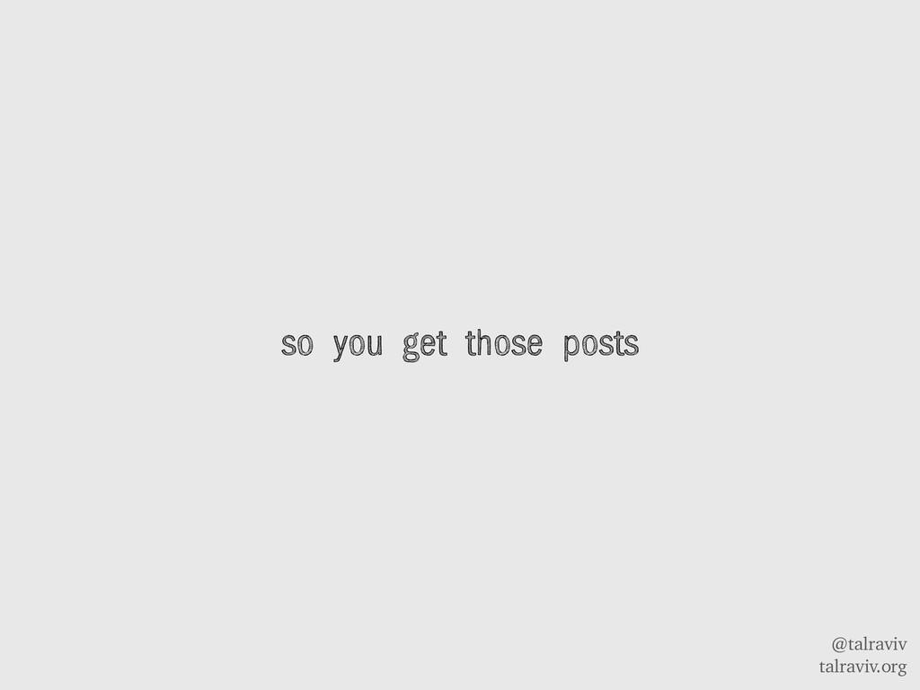 @talraviv talraviv.org so you get those posts