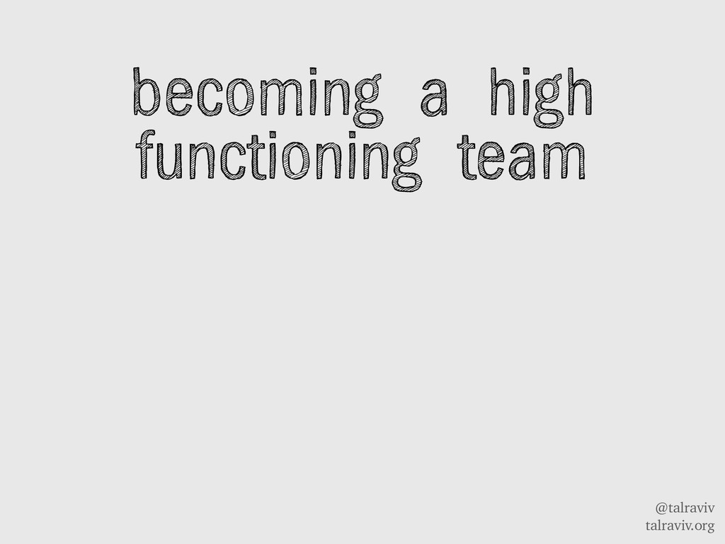@talraviv talraviv.org becoming a high function...