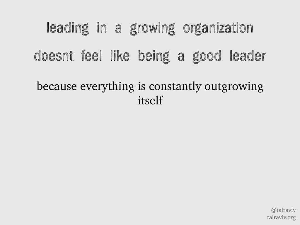 @talraviv talraviv.org leading in a growing org...
