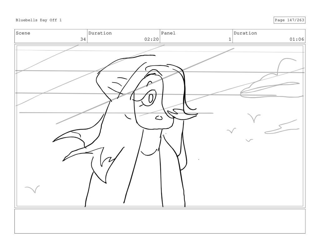 Scene 34 Duration 02:20 Panel 1 Duration 01:06 ...
