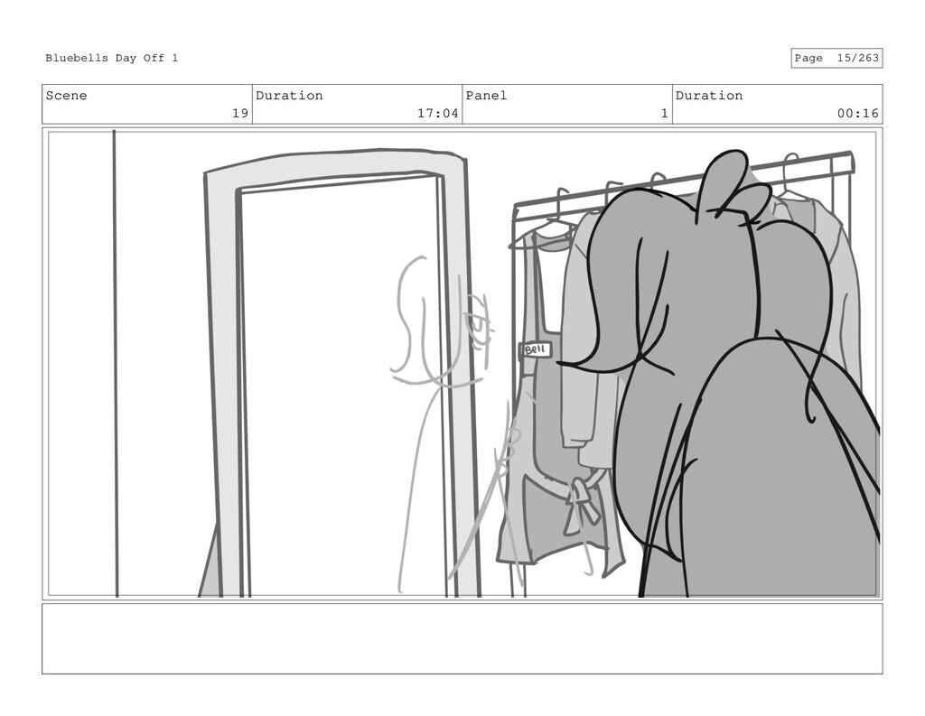 Scene 19 Duration 17:04 Panel 1 Duration 00:16 ...