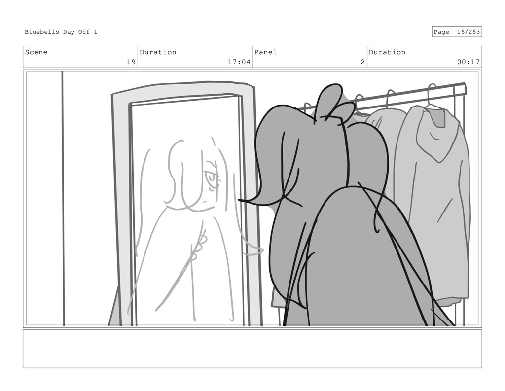 Scene 19 Duration 17:04 Panel 2 Duration 00:17 ...
