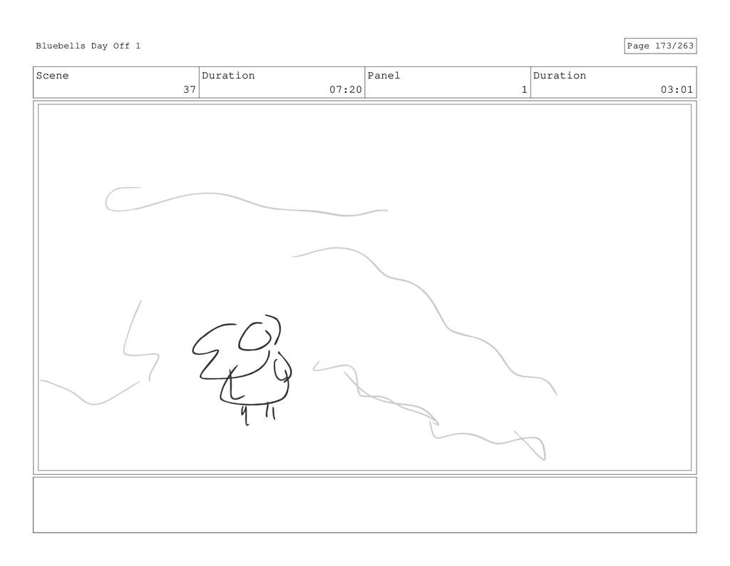 Scene 37 Duration 07:20 Panel 1 Duration 03:01 ...