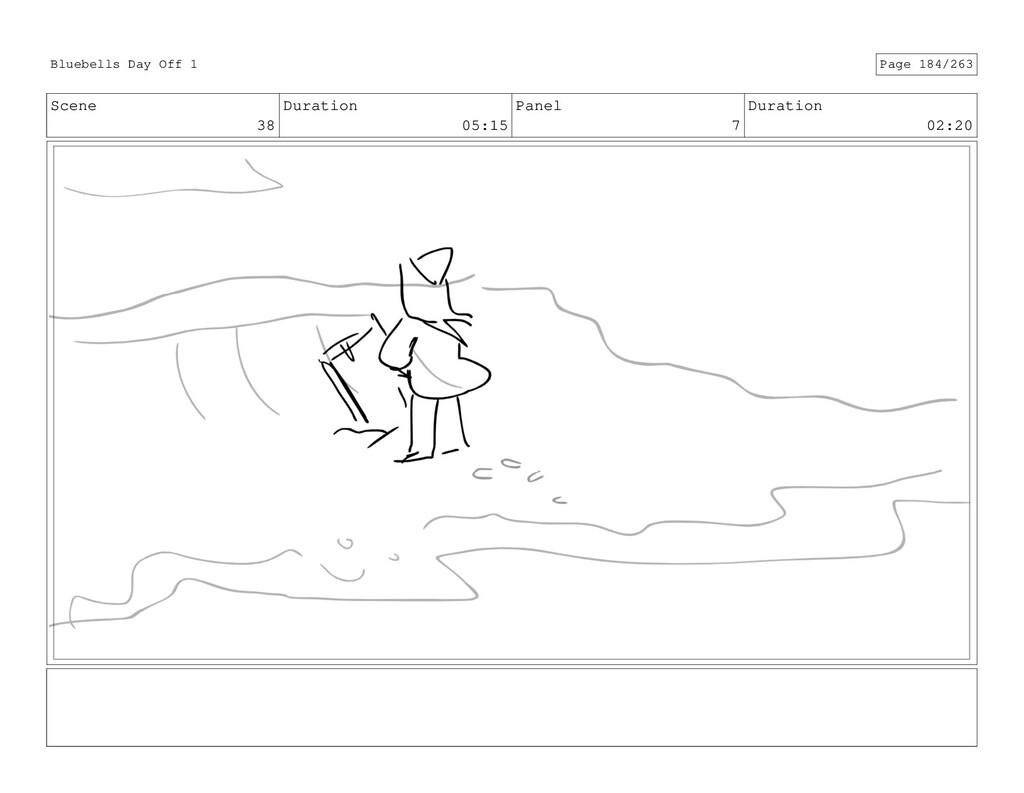 Scene 38 Duration 05:15 Panel 7 Duration 02:20 ...