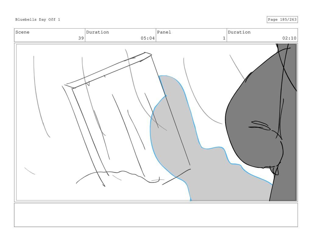 Scene 39 Duration 05:04 Panel 1 Duration 02:10 ...