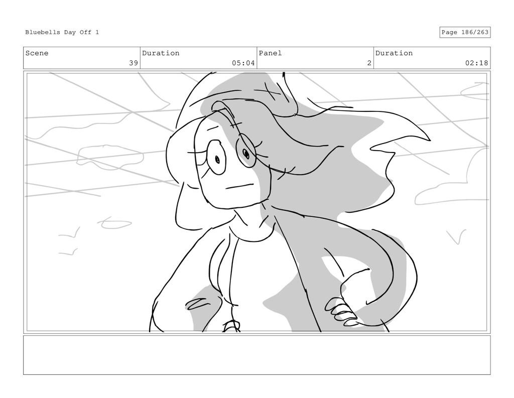 Scene 39 Duration 05:04 Panel 2 Duration 02:18 ...