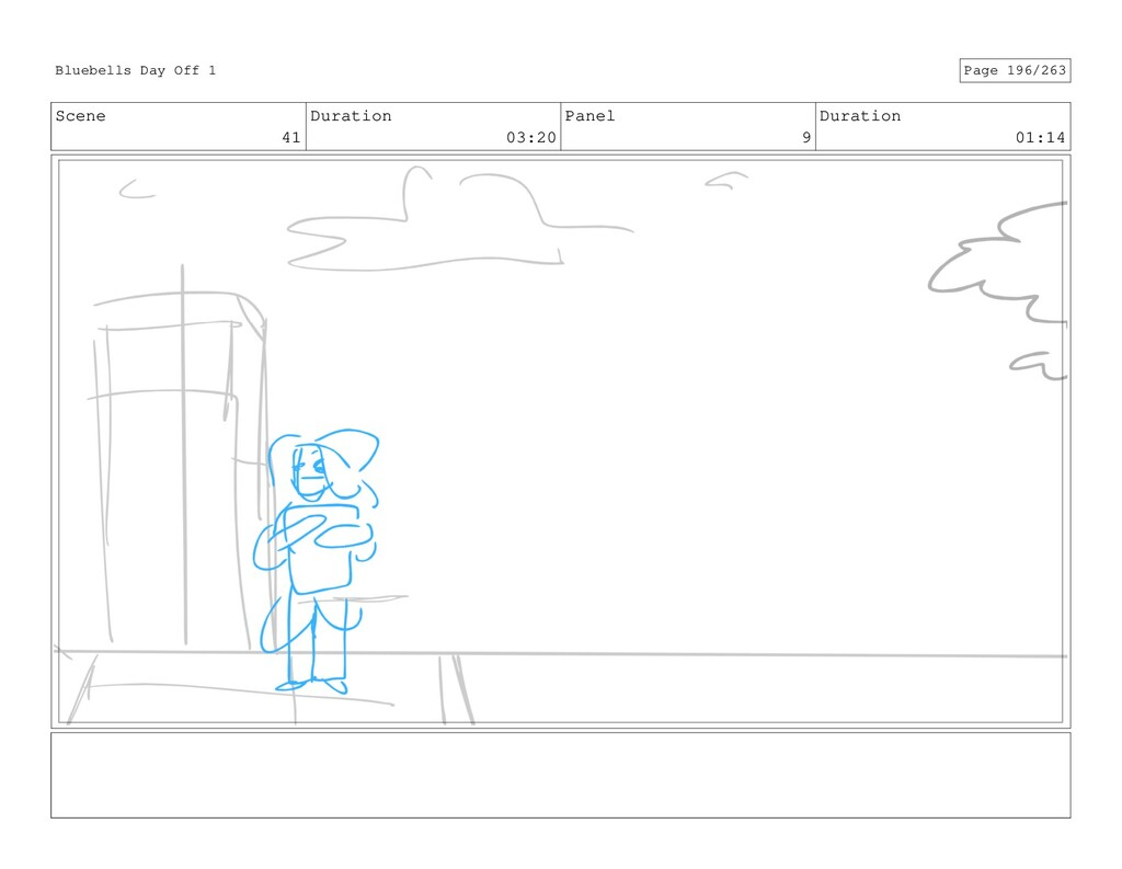 Scene 41 Duration 03:20 Panel 9 Duration 01:14 ...